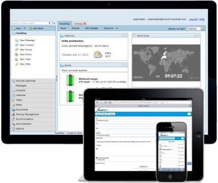 The new version 4.2 of Web 2.0 Communication Suite is unveiled on XamLive service